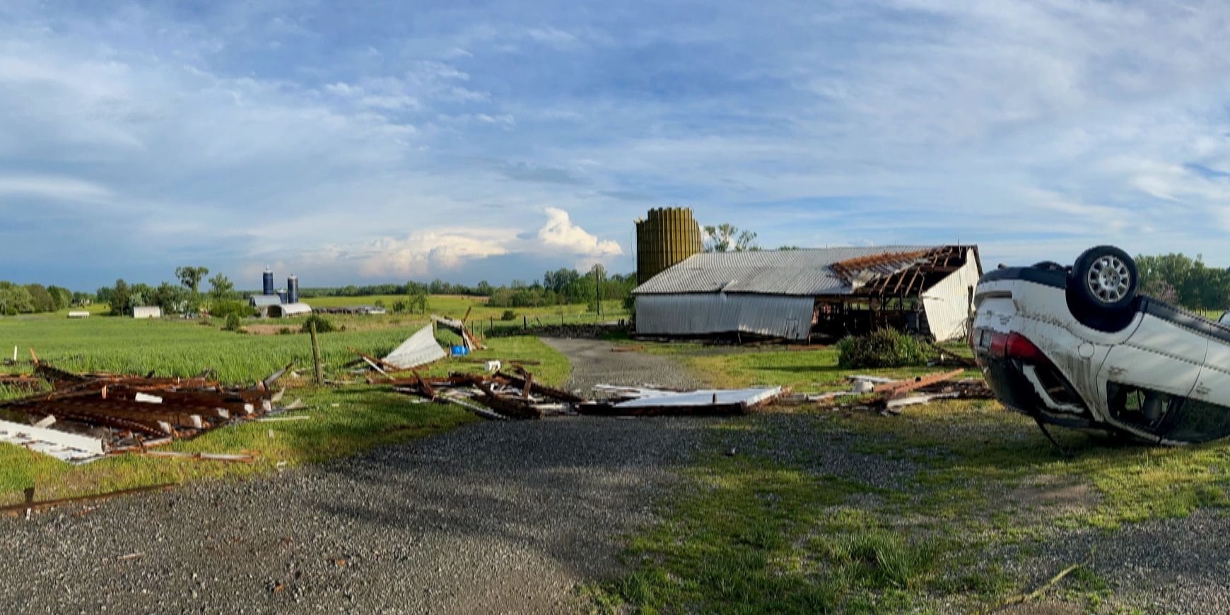 'It was just unreal': Tuesday's severe thunderstorm leaves damage in its wake