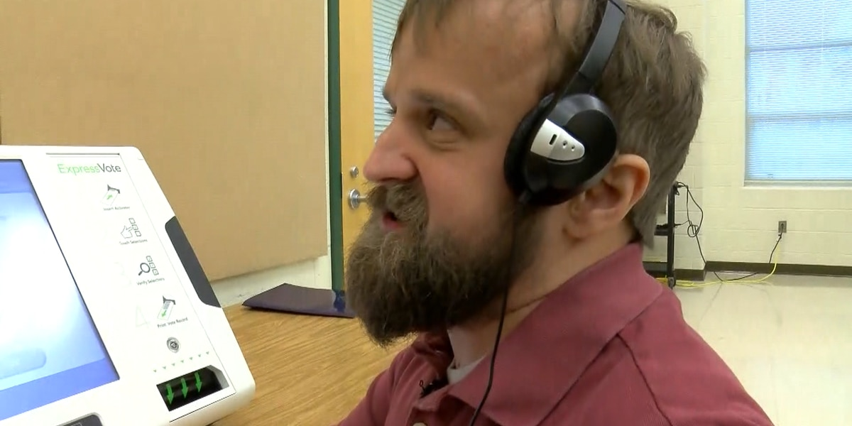 Blind Midlothian man observes faults in absentee voting process