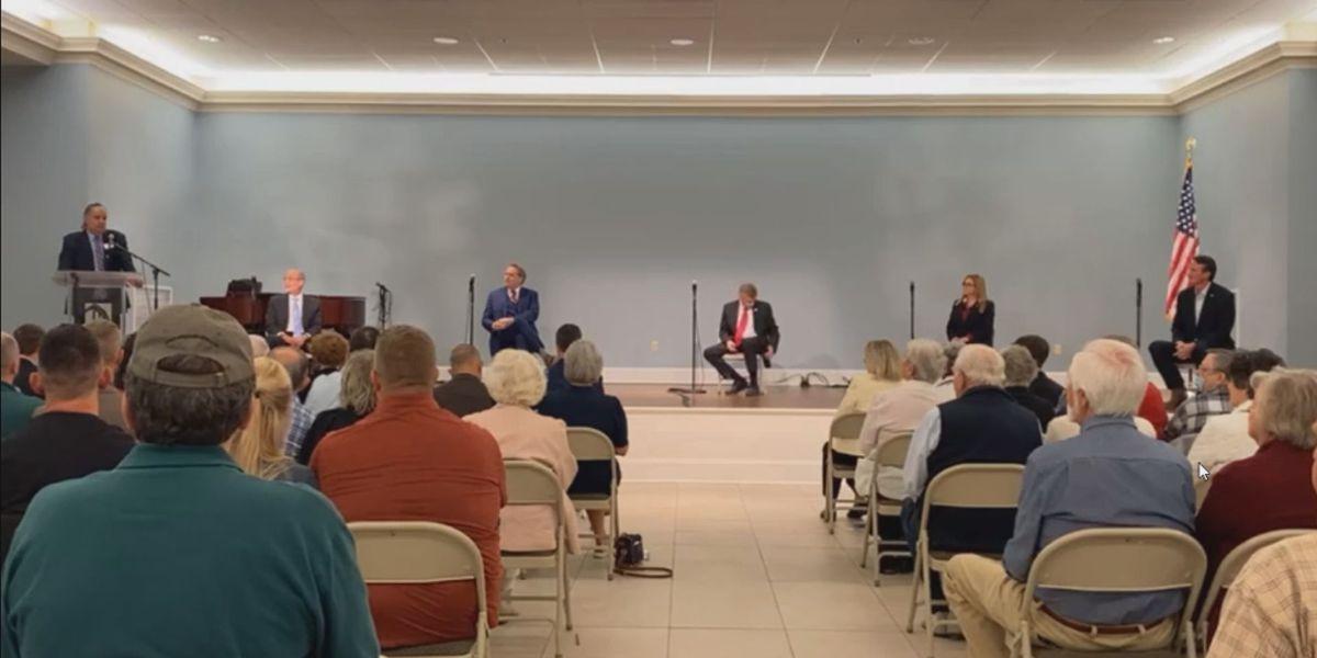 Republican candidates in Virginia's gubernatorial race meet at forum