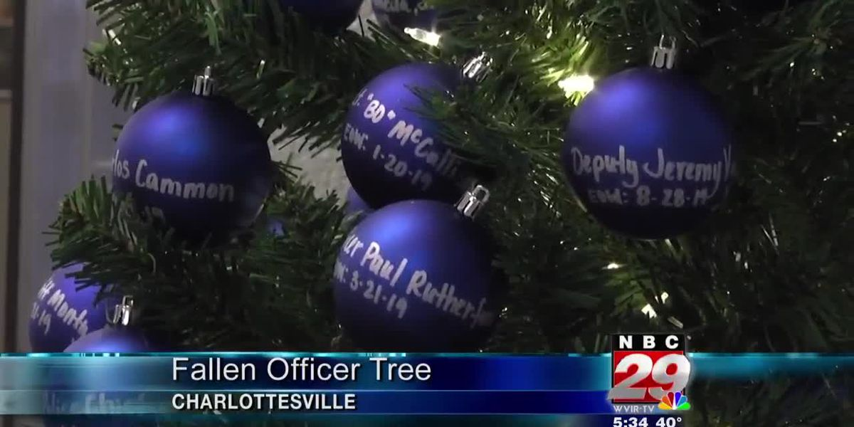 CPD Christmas tree ornaments name officers killed in the line of duty