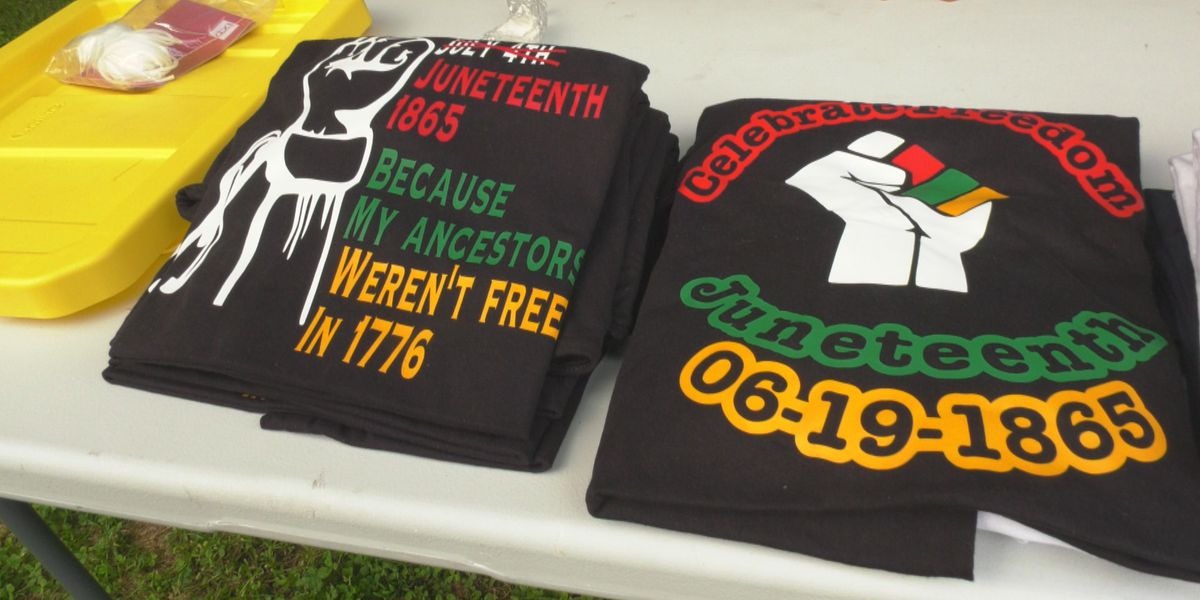 Charlottesville celebrates Juneteenth with dancing, music, and food in Booker T. Washington Park