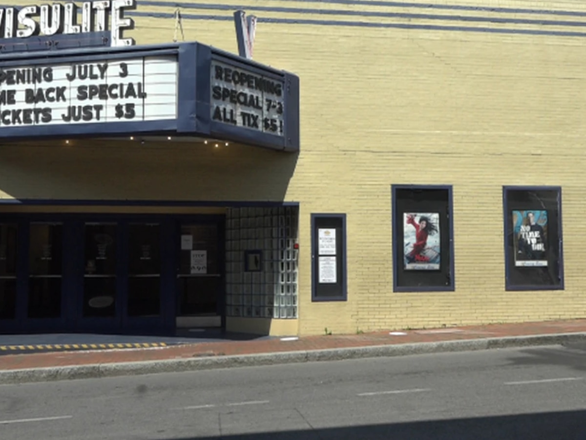 Staunton's Visulite reopens and welcomes community back to the movies