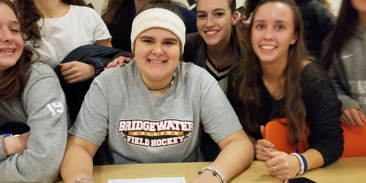 CHS field hockey goalie Casey Casarez signs with Bridgewater College
