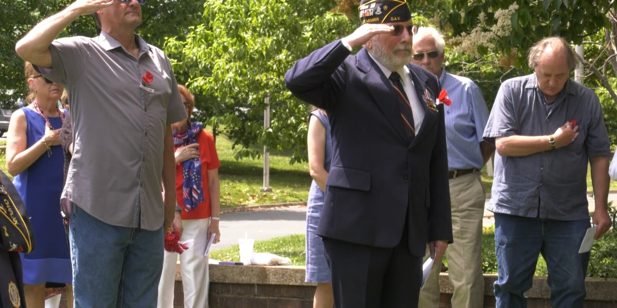 Honoring the fallen in Albemarle Co. this Memorial Day