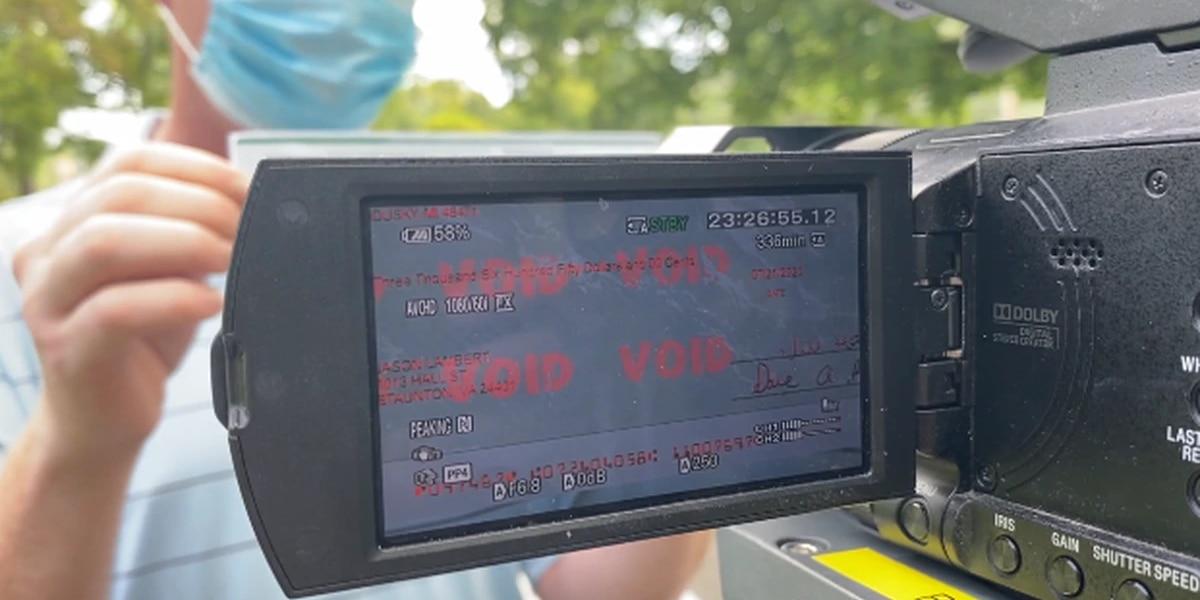 Staunton man warns community of car wrap scam
