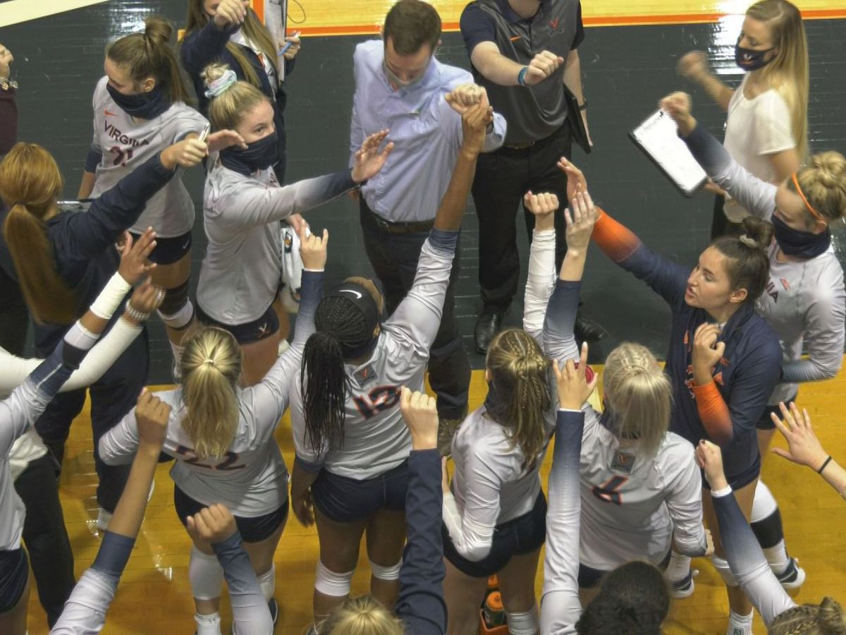 UVA volleyball falls 3-1 against NC State at Memorial Gymnasium