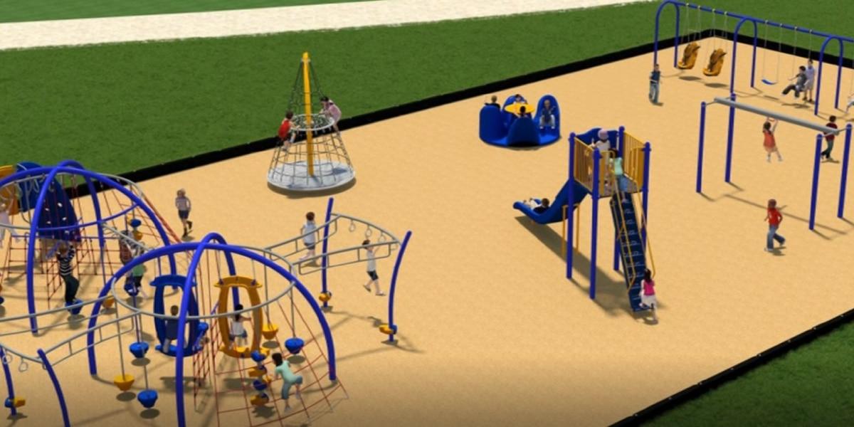 Pathway to Walker Upper Elementary's future playground needs nearly $50K worth of ADA upgrades
