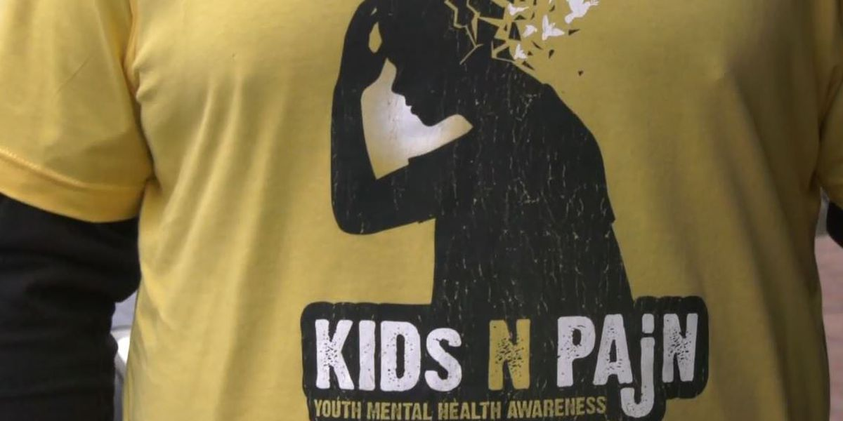 A group of bikers hit the road to raise awareness about youth mental health