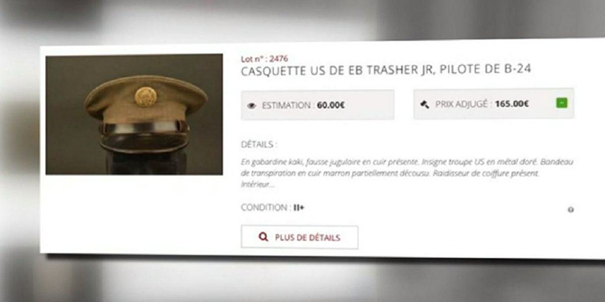 WWII pilot's cap returned to Roanoke after stranger finds it in French auction