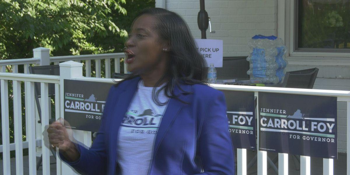 Jennifer Carroll Foy visits Charlottesville