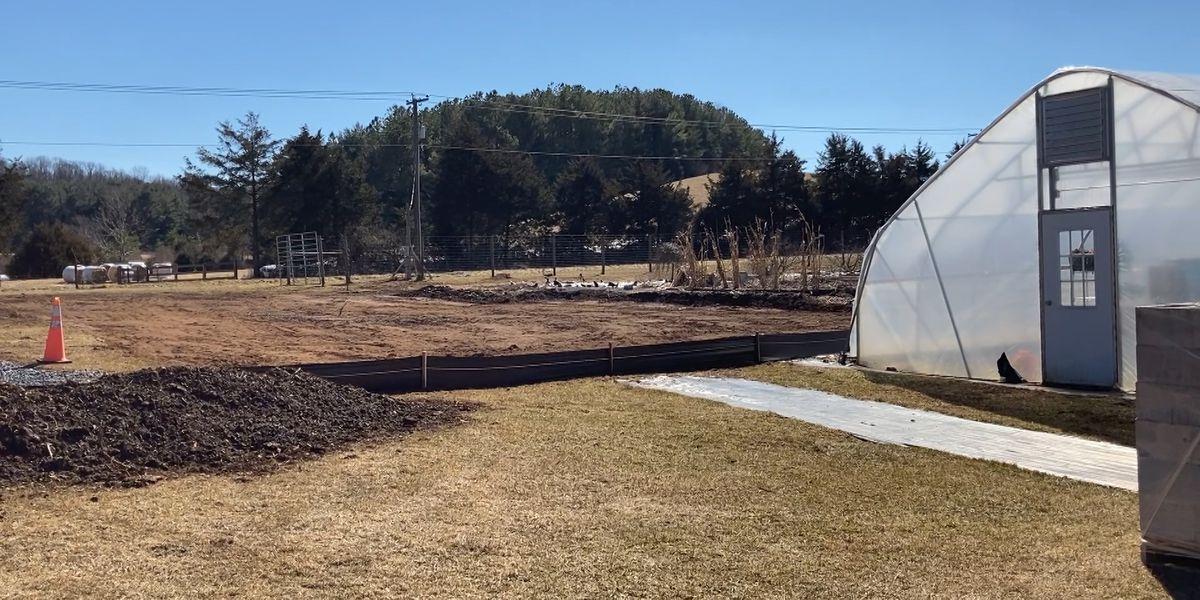 Project Grows barn construction kicks off