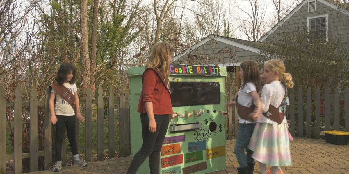Charlottesville Girl Scout troop creates 'cookie-bot' to increase sales