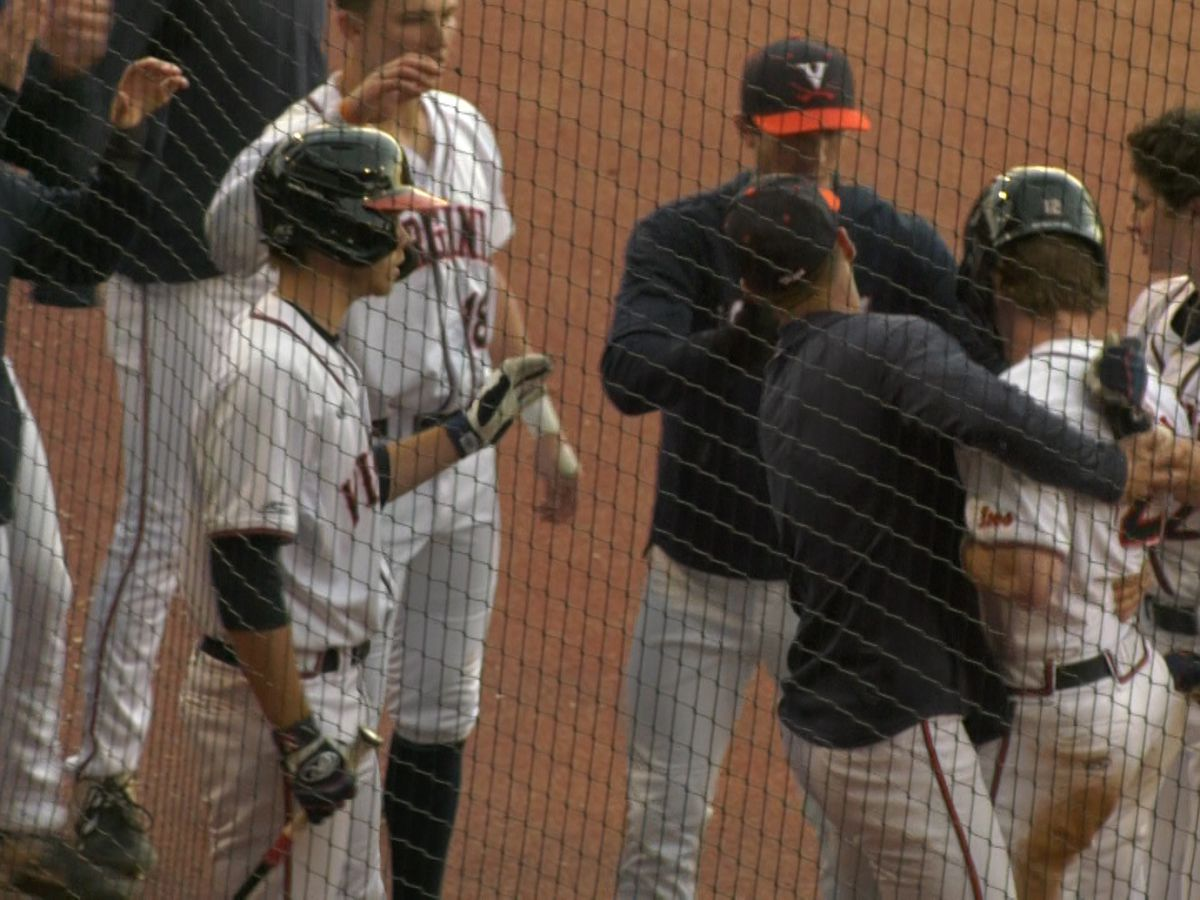 UVa Baseball rallies for 4-3 win over VMI in home opener