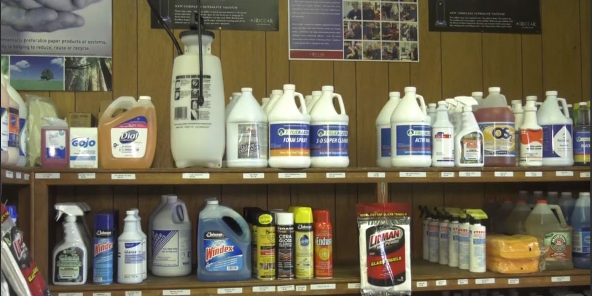 Stores working to keep cleaning supplies stocked amid coronavirus pandemic