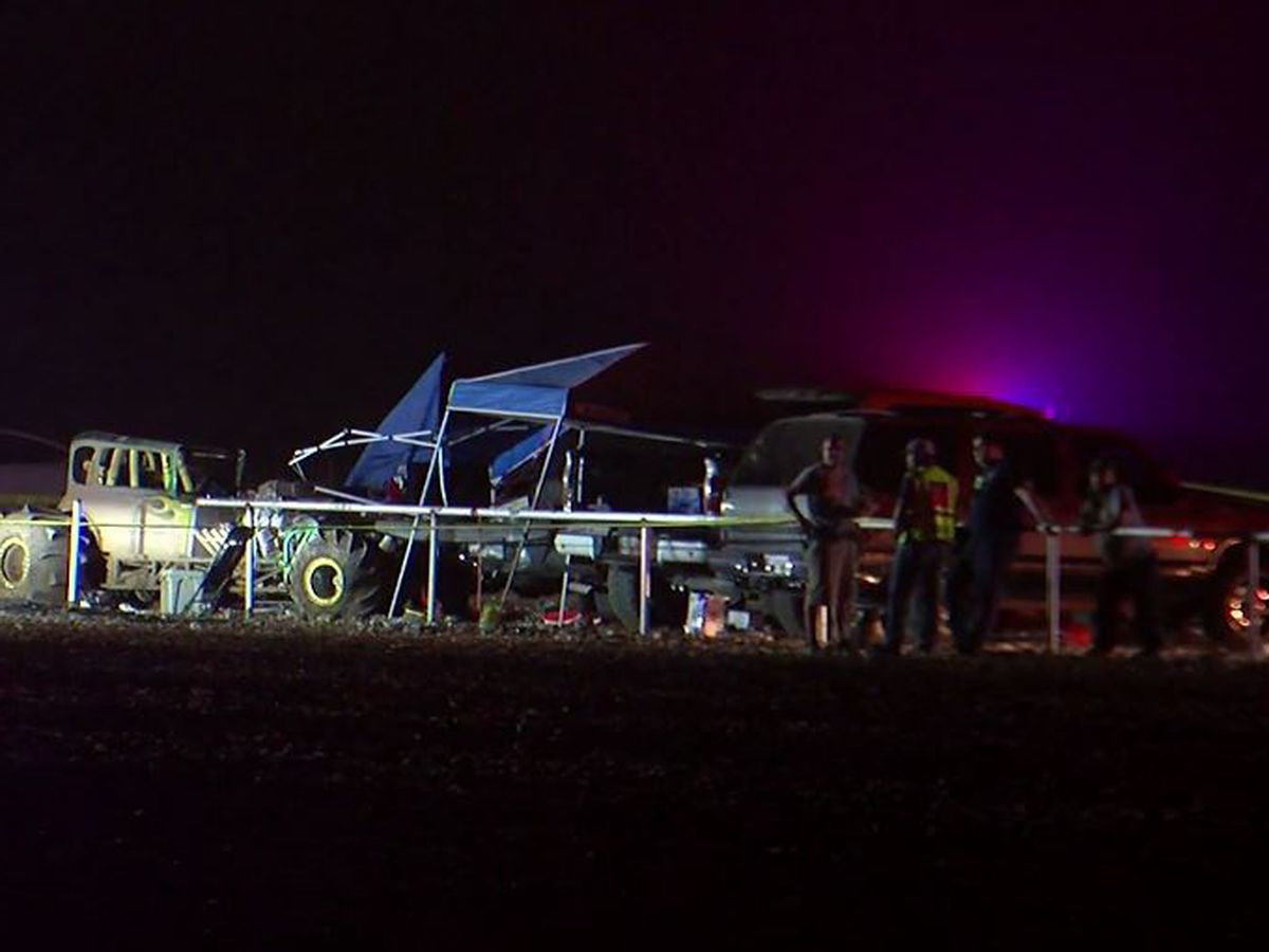 8 hurt as vehicle crashes into crowd at Texas race track