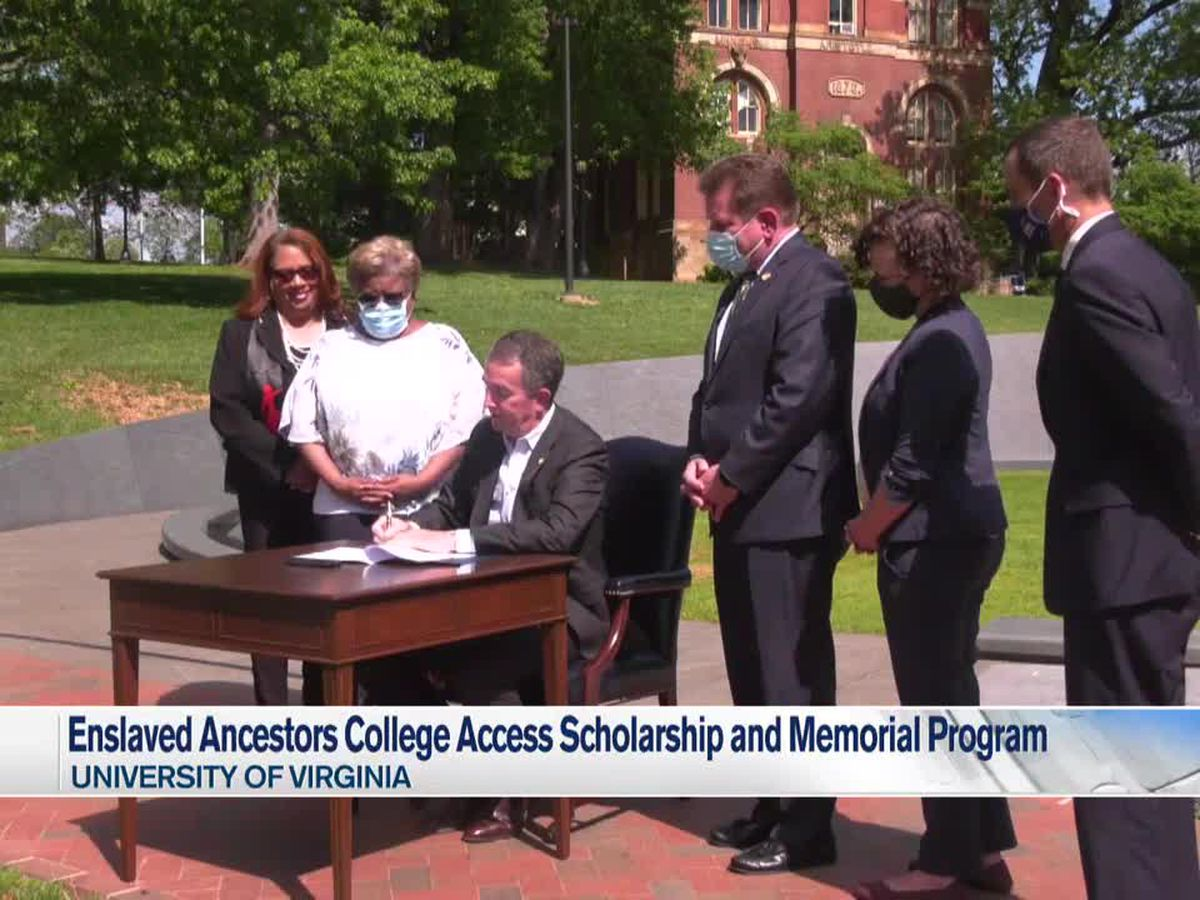 Governor Ralph Northam signs bill establishing Enslaved Ancestors College Access Scholarship and Memorial Program
