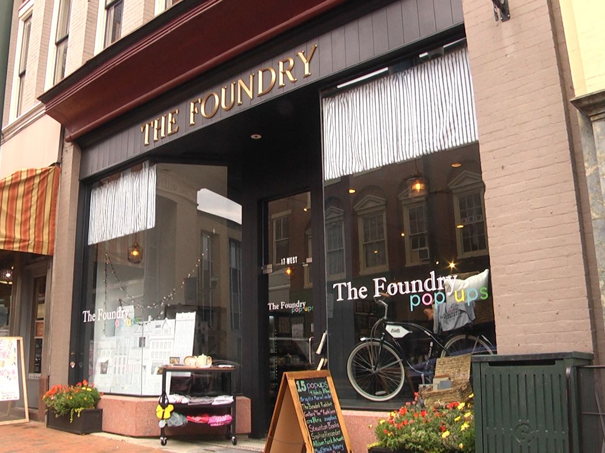 The Foundry in Staunton offers safe space for budding entrepreneurs