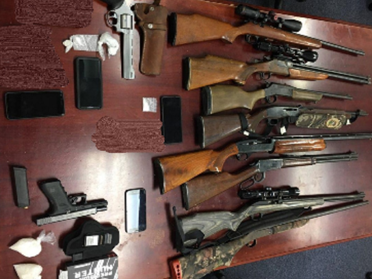 VSP: 4 people from Augusta and Nelson counties arrested on gun and drug charges