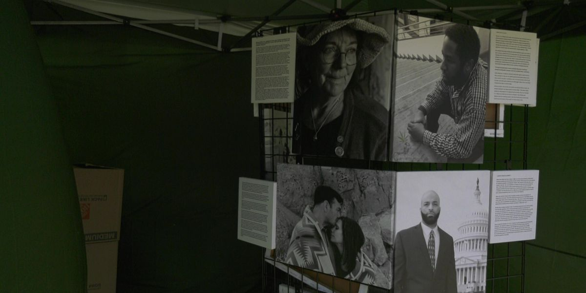 'Cruel Consequences: Portraits of Misguided Law' exhibit made a stop at the Ix Art Park
