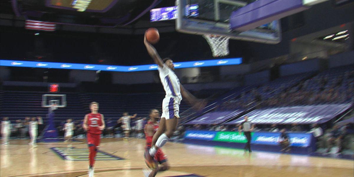 JMU men's basketball defeats Florida Atlantic 79-70