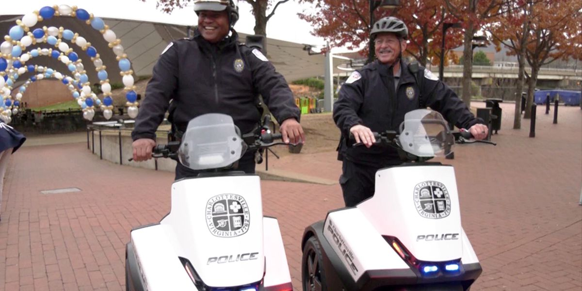 Charlottesville police to use new Segways in high traffic pedestrian areas