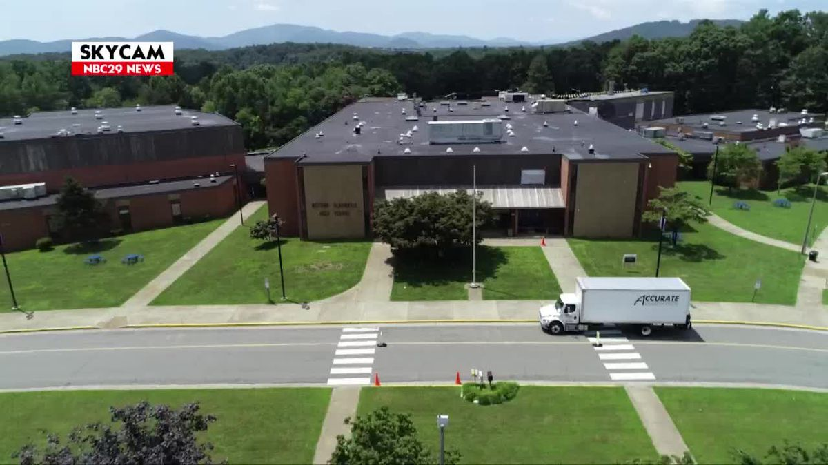 NBC29 Skycam: Crozet Elementary & Housing - July 15, 2019