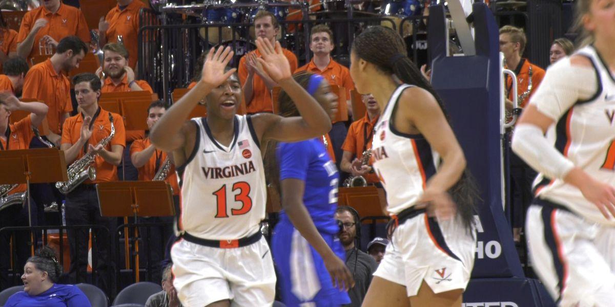 UVA Women's basketball beats Duke 66-63 to earn first ACC win