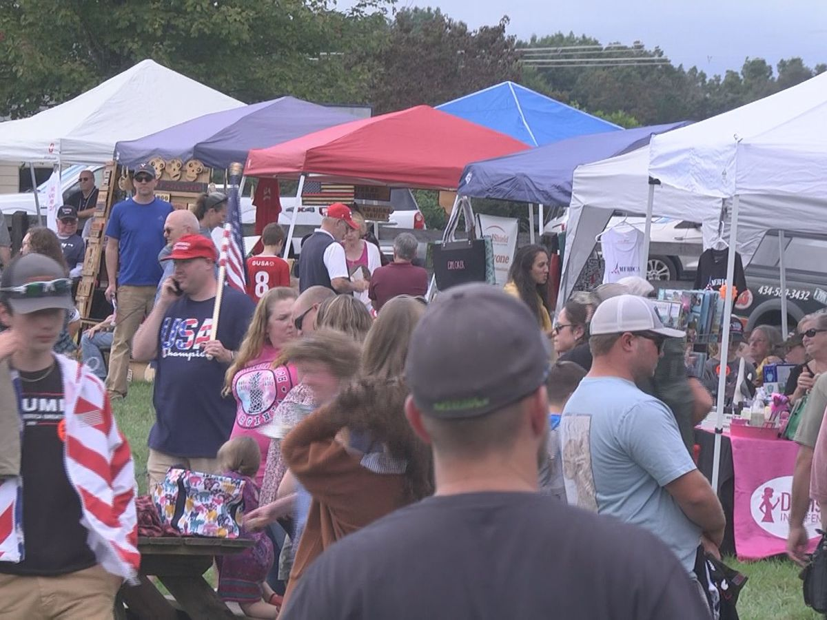 "Hundreds turn out for ""God, Guns and a Good Time"" rally in Fluvanna Co."