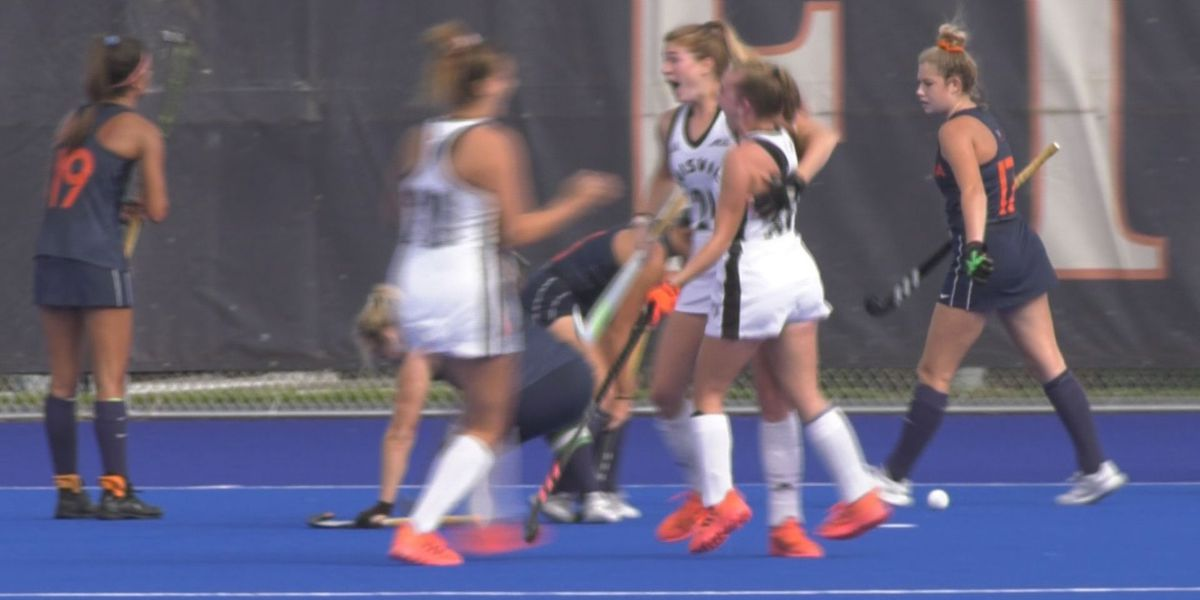 Last-second goal gives Louisville 2-1 win over Virginia Field Hockey