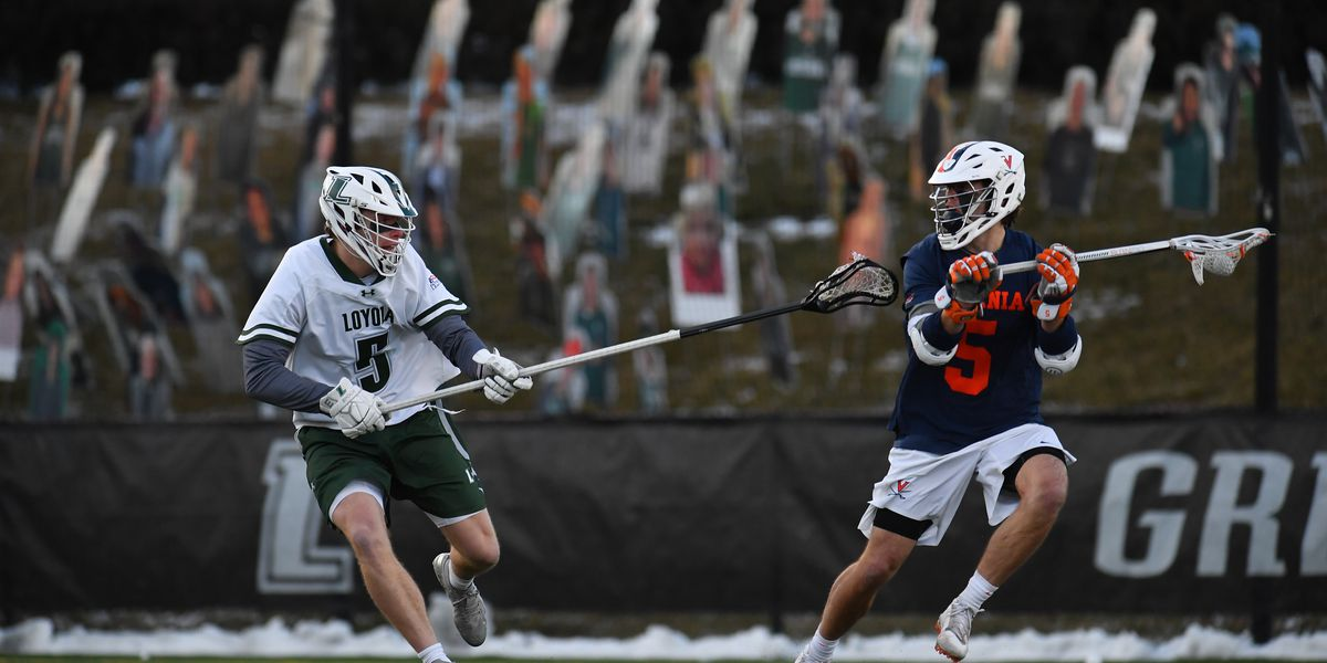 No. 3 UVA men's lax tops No. 11 Loyola 15-12 in road opener