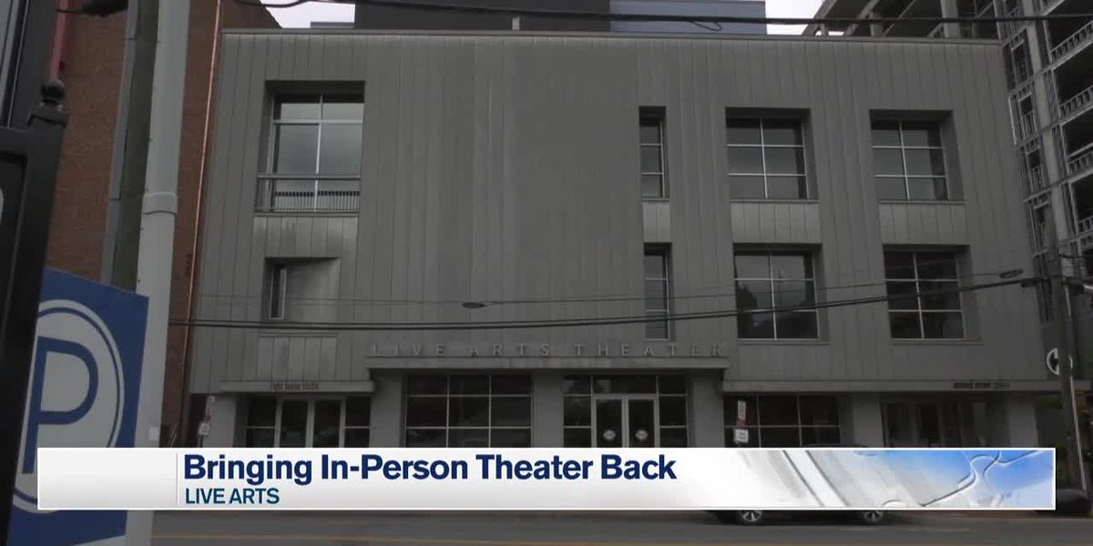 Live Arts trying to bring audiences back soon