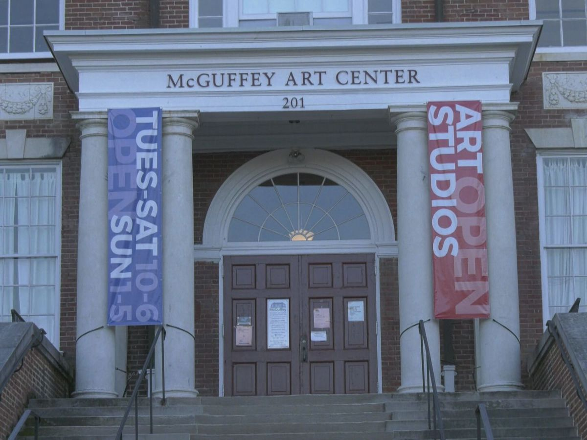 McGuffey Art Center reopens for in-person art exhibits by appointment