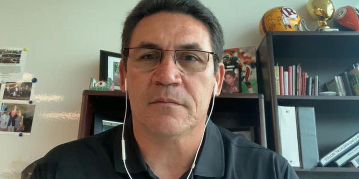 Washington head coach Ron Rivera battling cancer