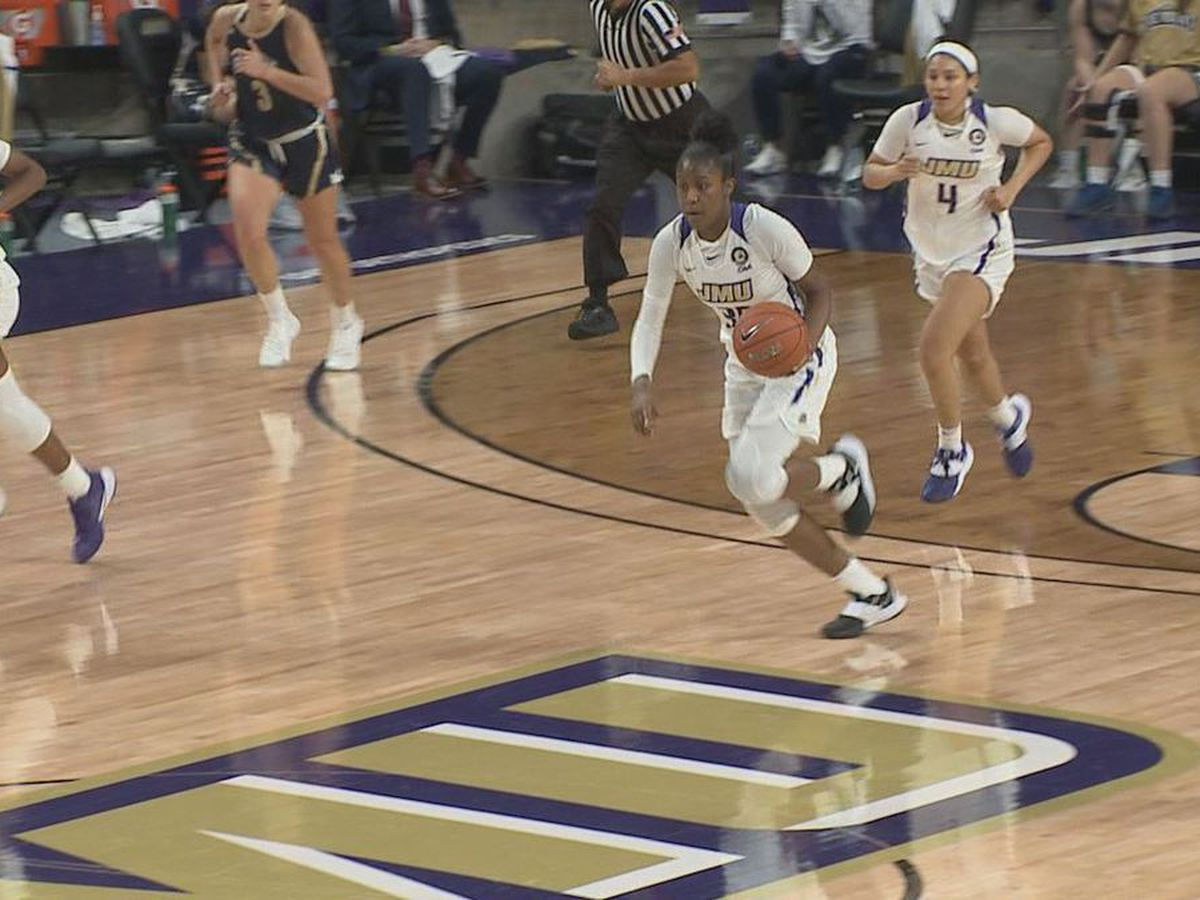 Short-handed JMU holds off Mount St. Mary's in season opener
