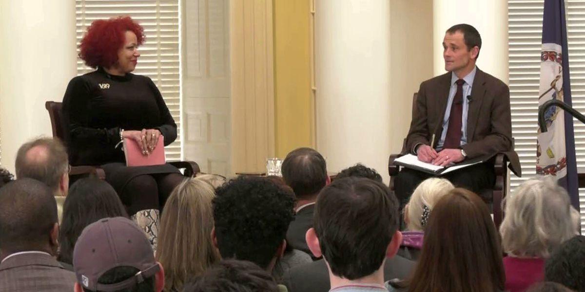 New York Times' writer Nikole Hannah-Jones brings The 1619 Project to UVA