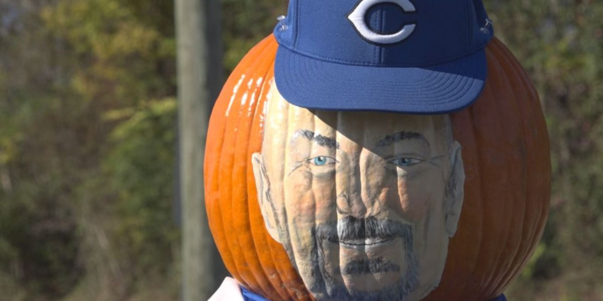 The pumpkin people have returned to a Virginia town to honor a community member