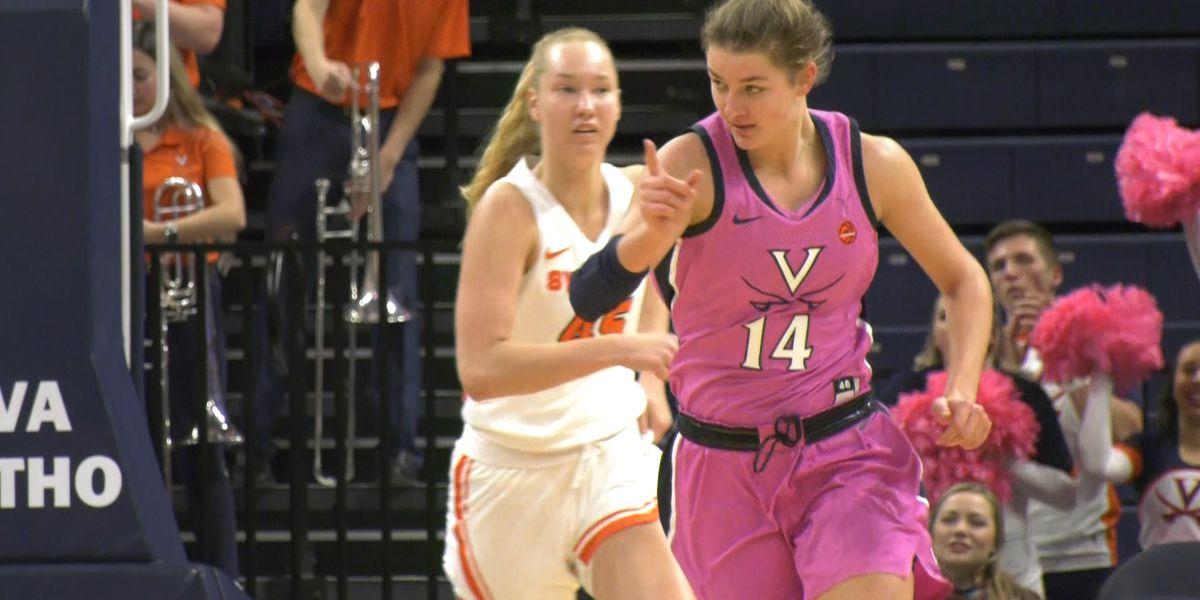 Virginia women's basketball tops ACC foe Syracuse