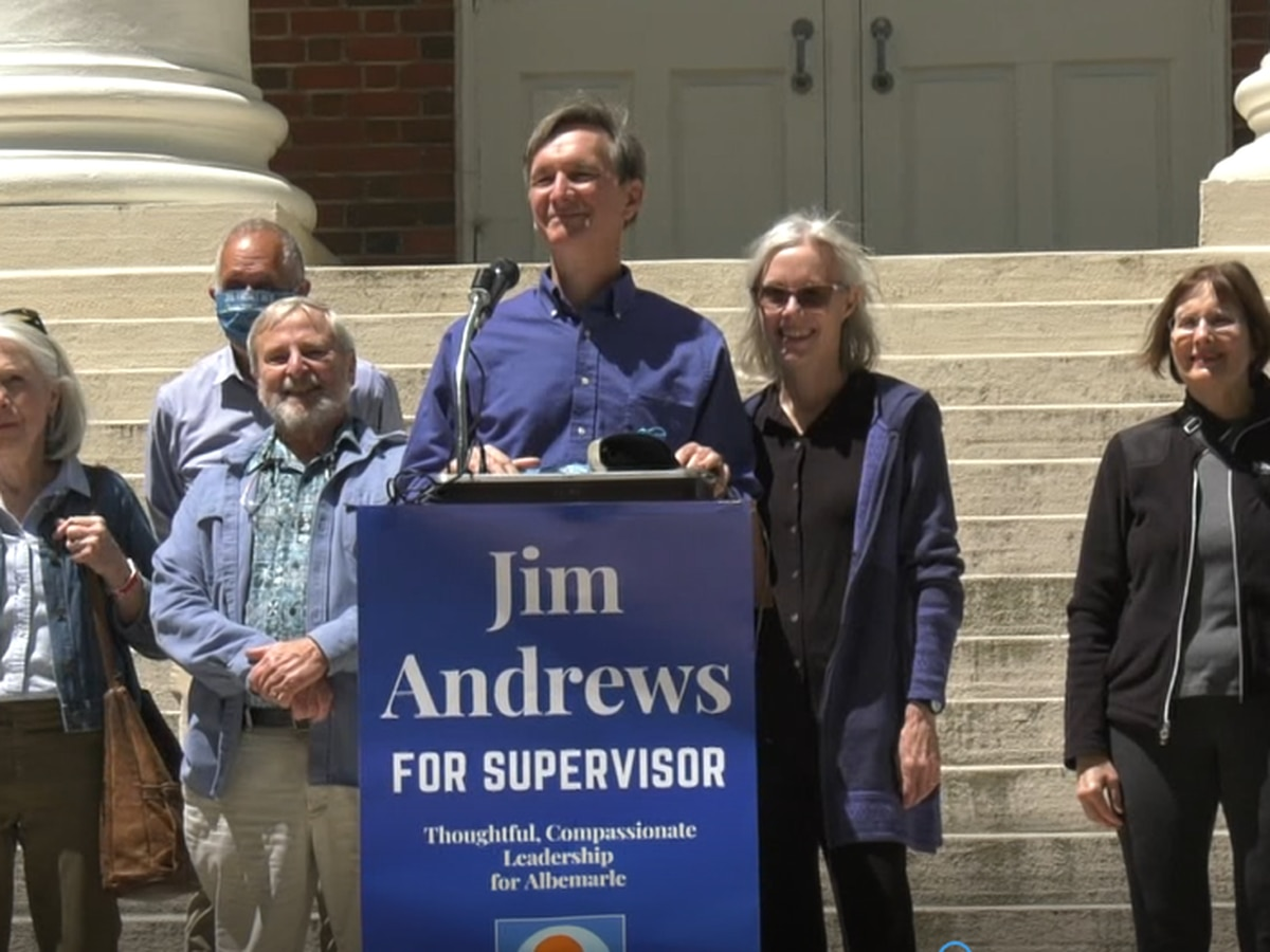 Jim Andrews announces run for Albemarle County Board of Supervisors