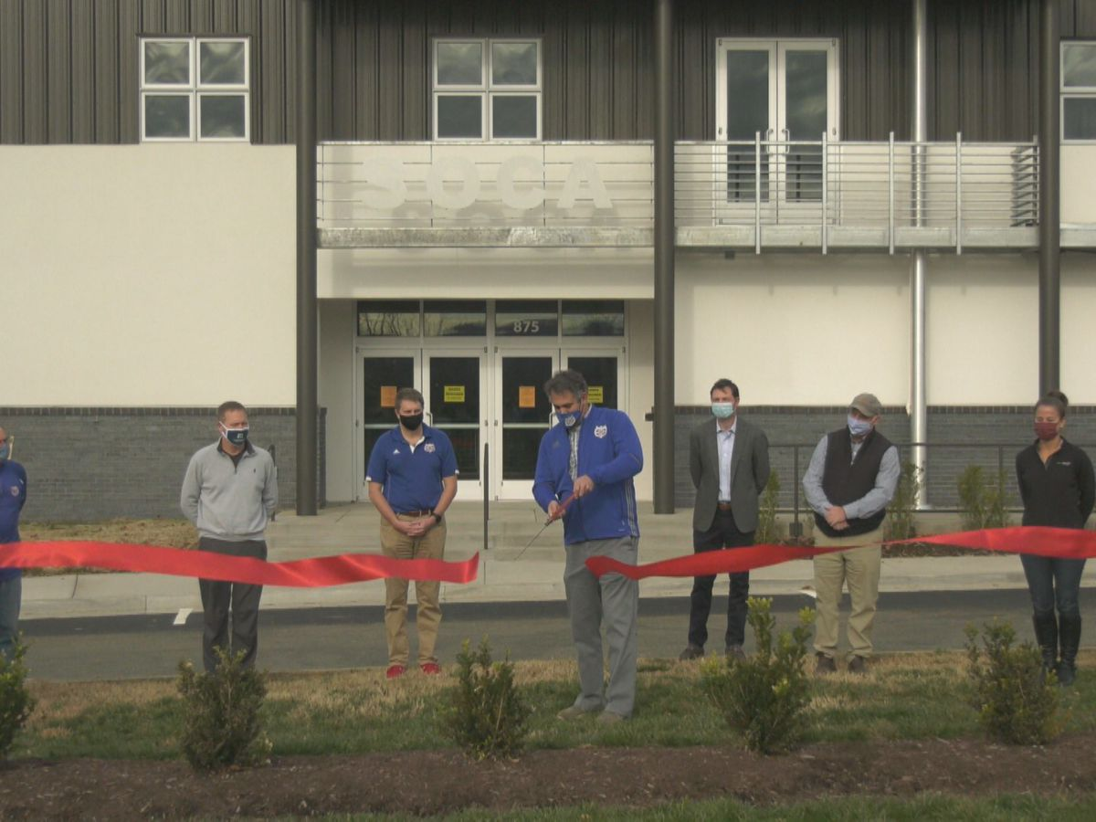 SOCA opens new training facility in Albemarle Co.