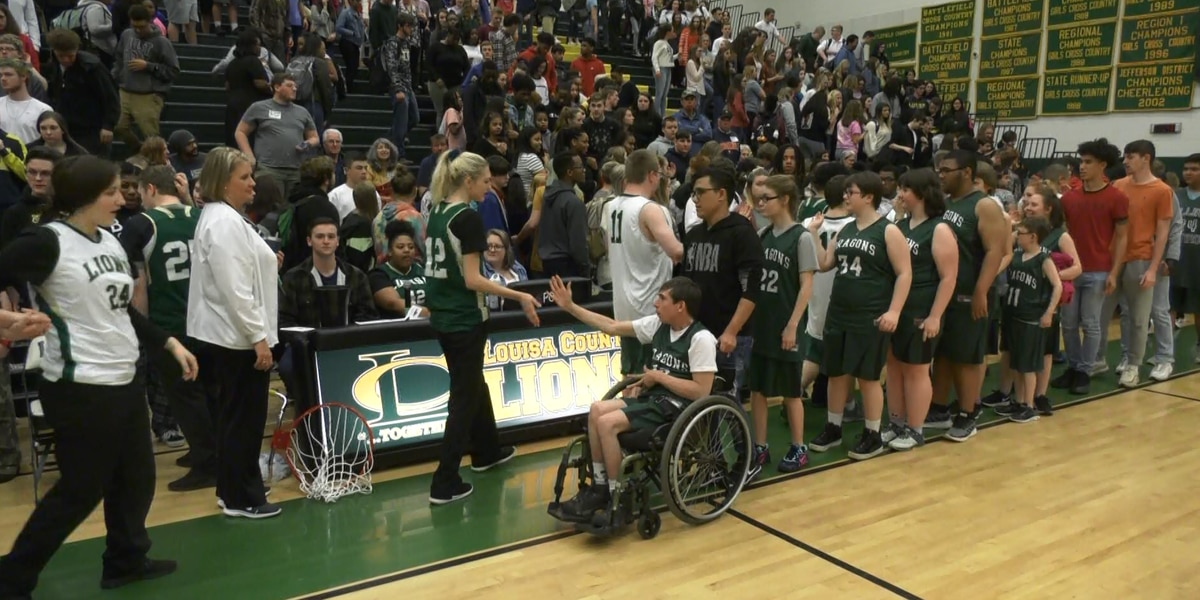 Lions Together game gives students of all abilities a chance on the court
