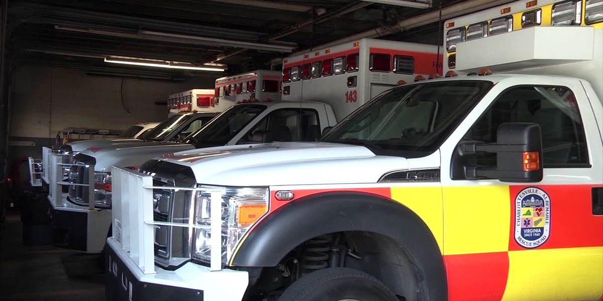 Charlottesville-Albemarle Rescue Squad going beyond the call, helping thousands