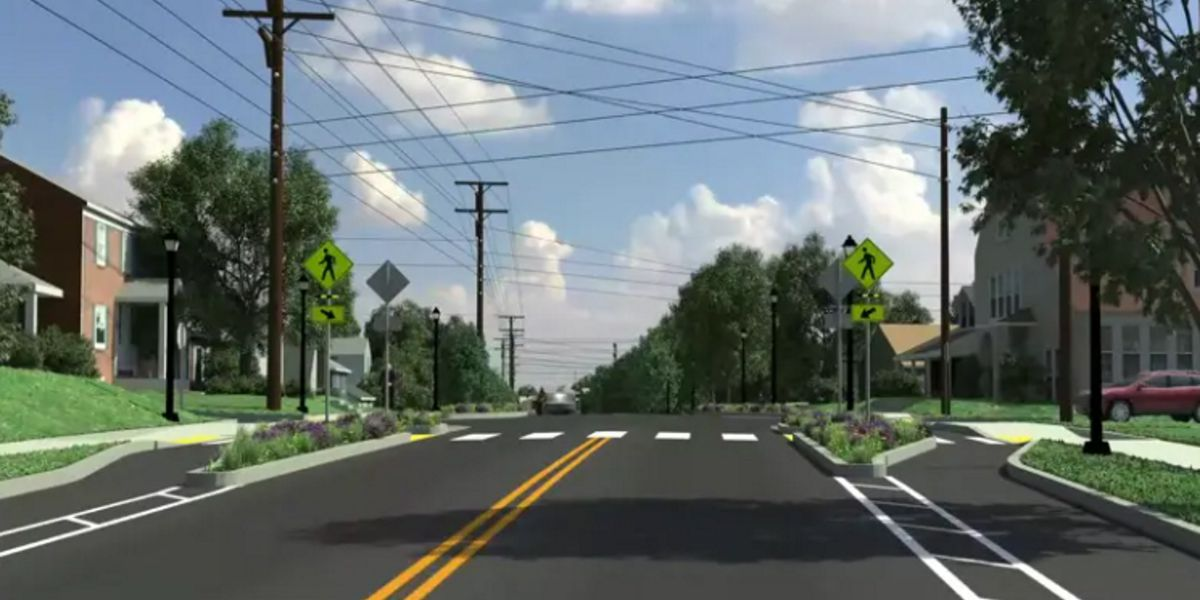 Charlottesville getting feedback on Fontaine Streetscape Project