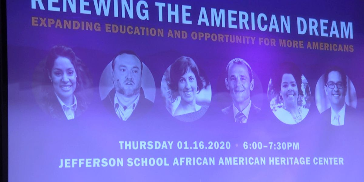 "UVA School of Continuing and Professional Studies hosts ""Renewing the American Dream"" event"