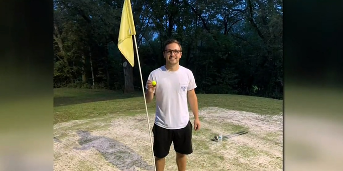 Eagle Eye: Virginia amateur makes hole-in-one weeks after losing eye in on-course accident