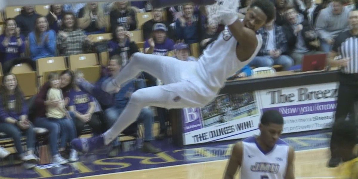 JMU's Matt Lewis named to NABC All-District 10 Second-Team