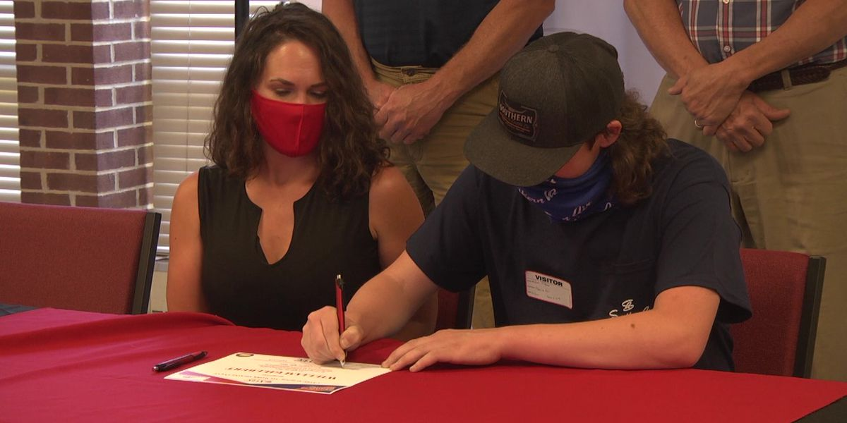 CATEC students celebrate employment with signing ceremony