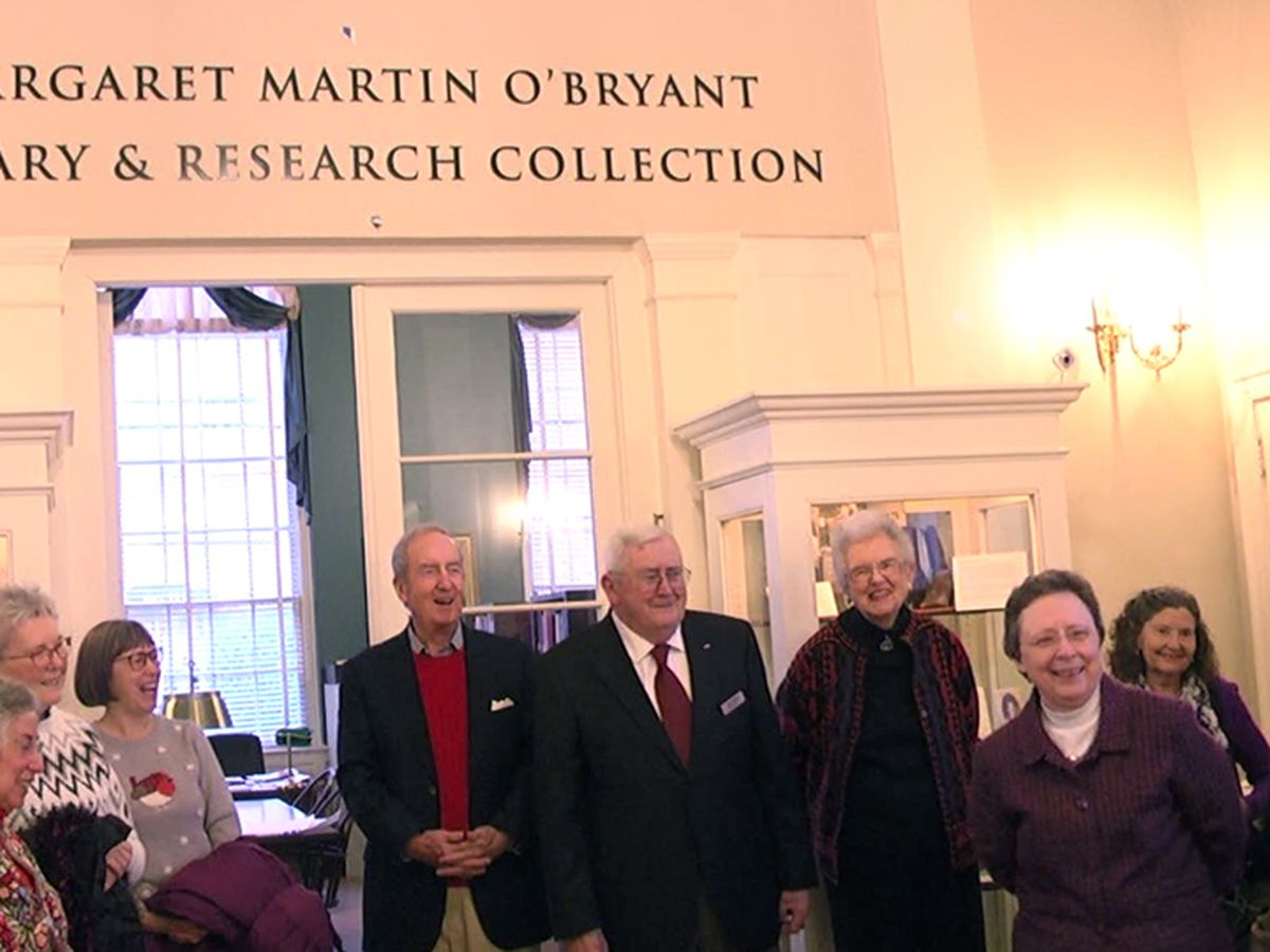 Historical society honors Margaret Martin O'Bryant by naming library after her